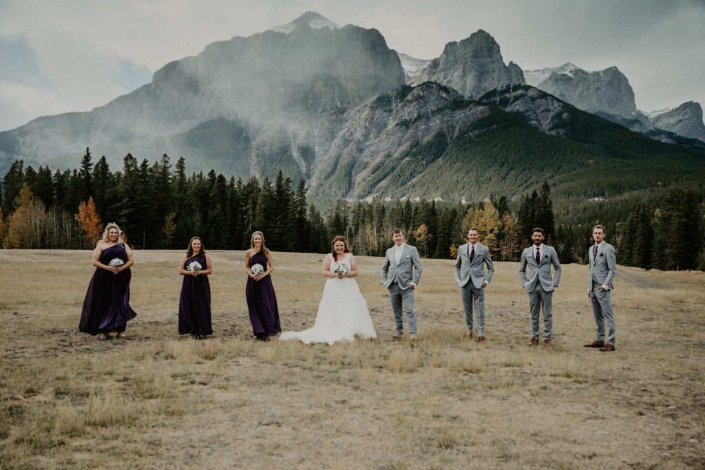 Cornerstone Theater Wedding in Canmore