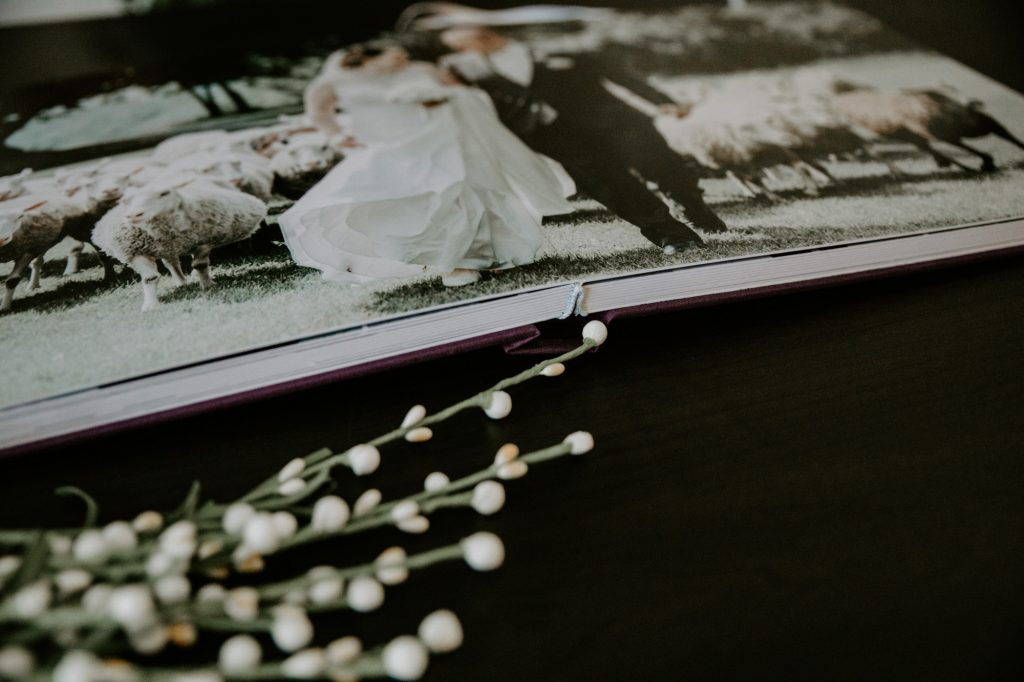 Teller of Tales Photography Wedding Album