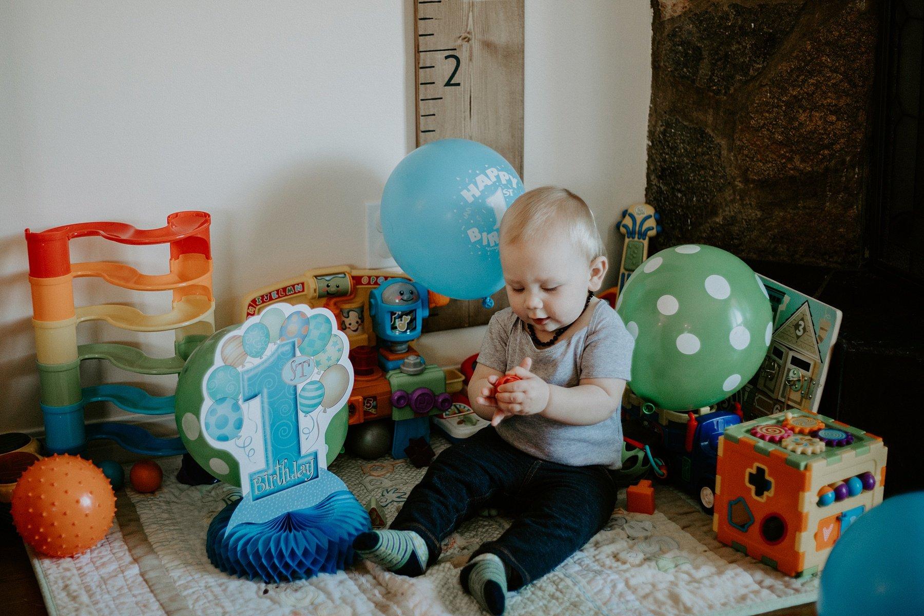 Birthday photography session