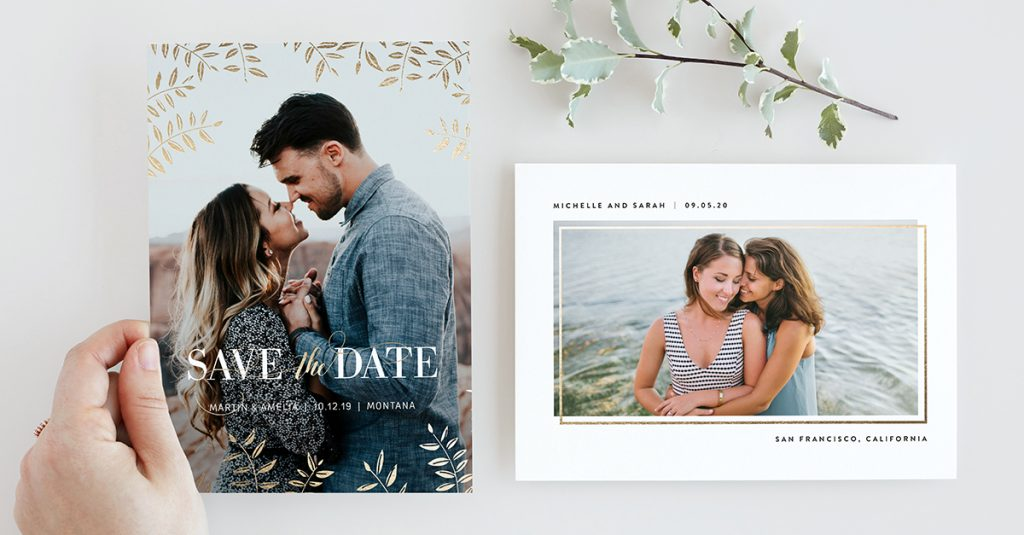 Minted Weddings Save The Dates