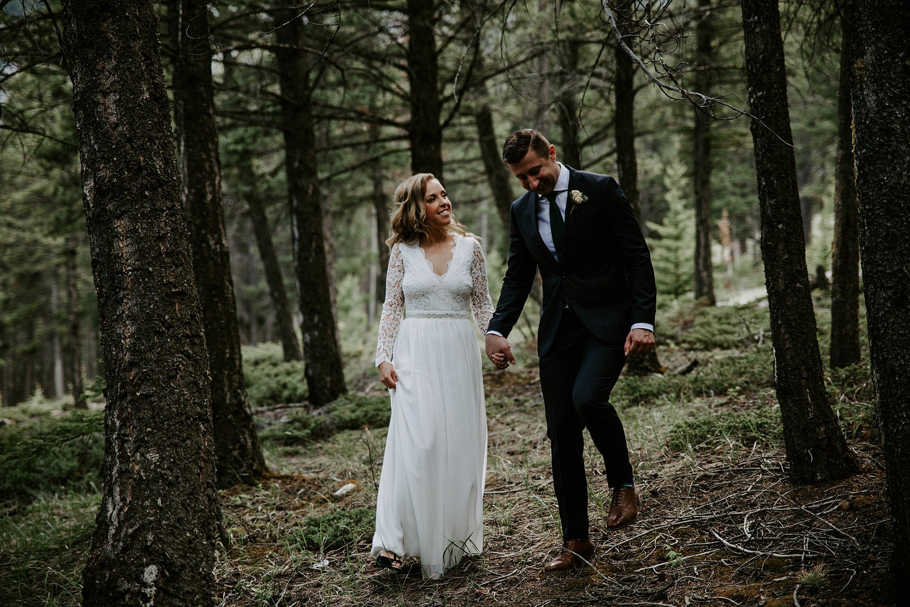 Teller of Tales Photography - Elopement - Tunnel Mountain Banff-88.jpg