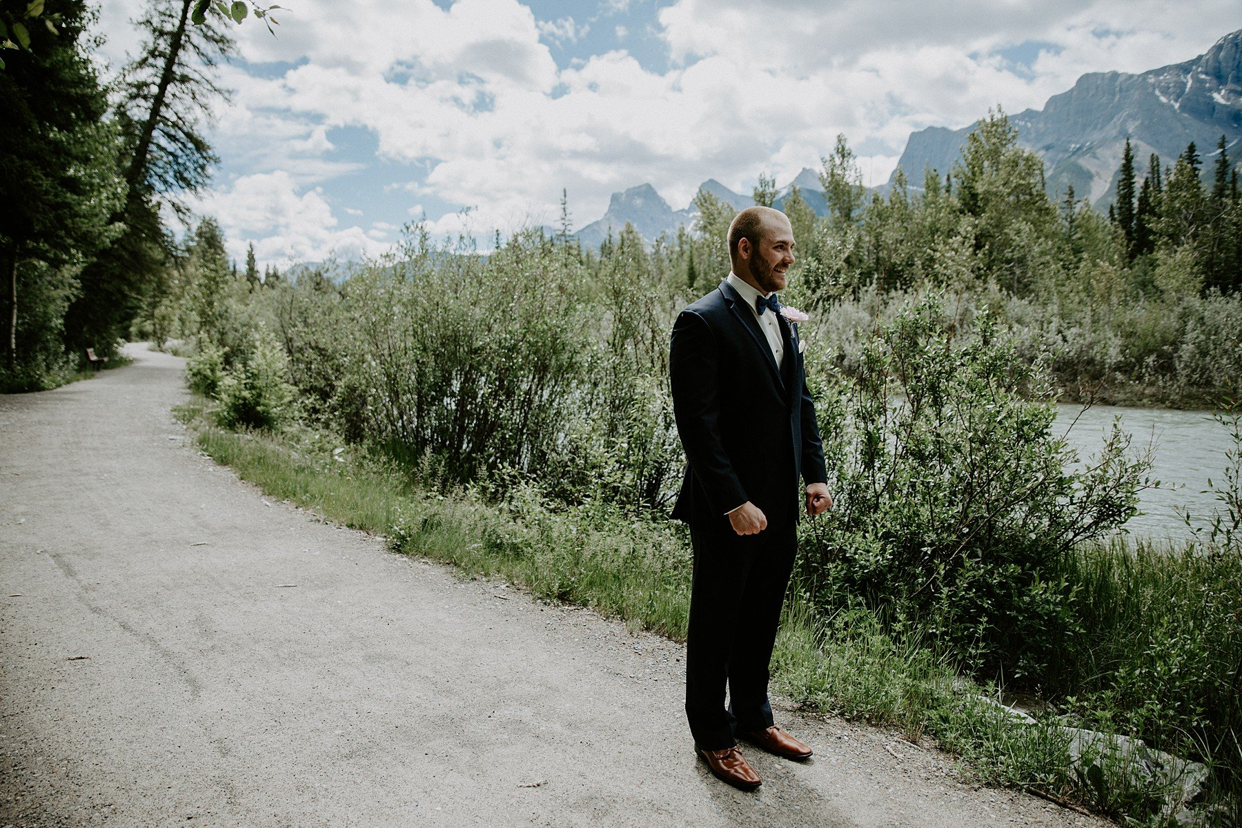 Cornerstone Theatre Wedding In Canmore
