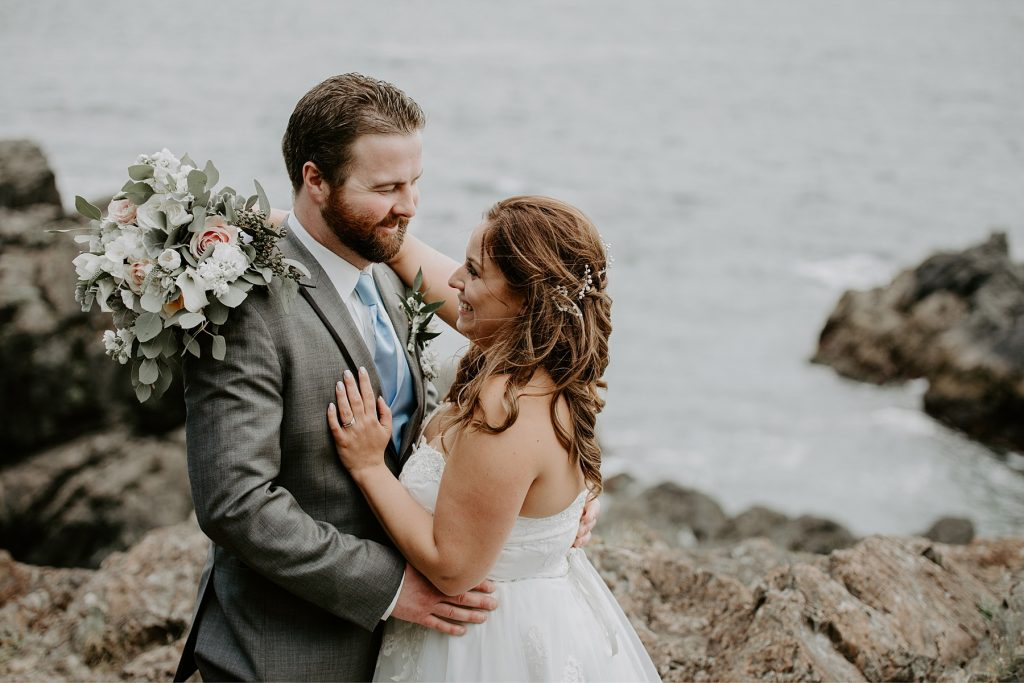 Ucluelet wedding at black rock oceanfront resort