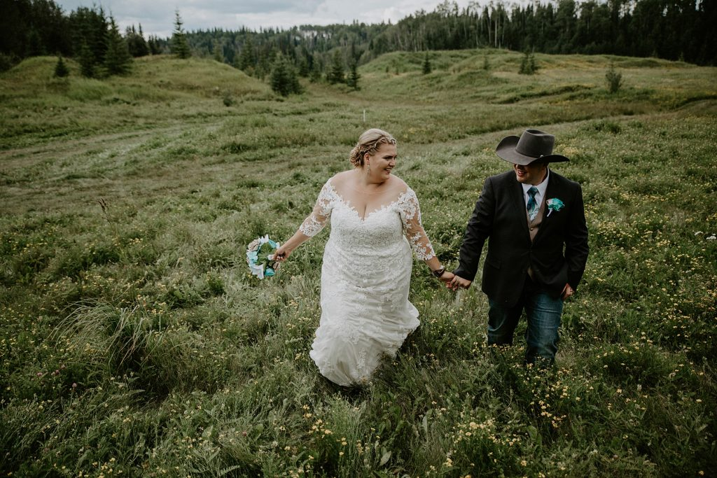 Country Wedding in Edson Alberta