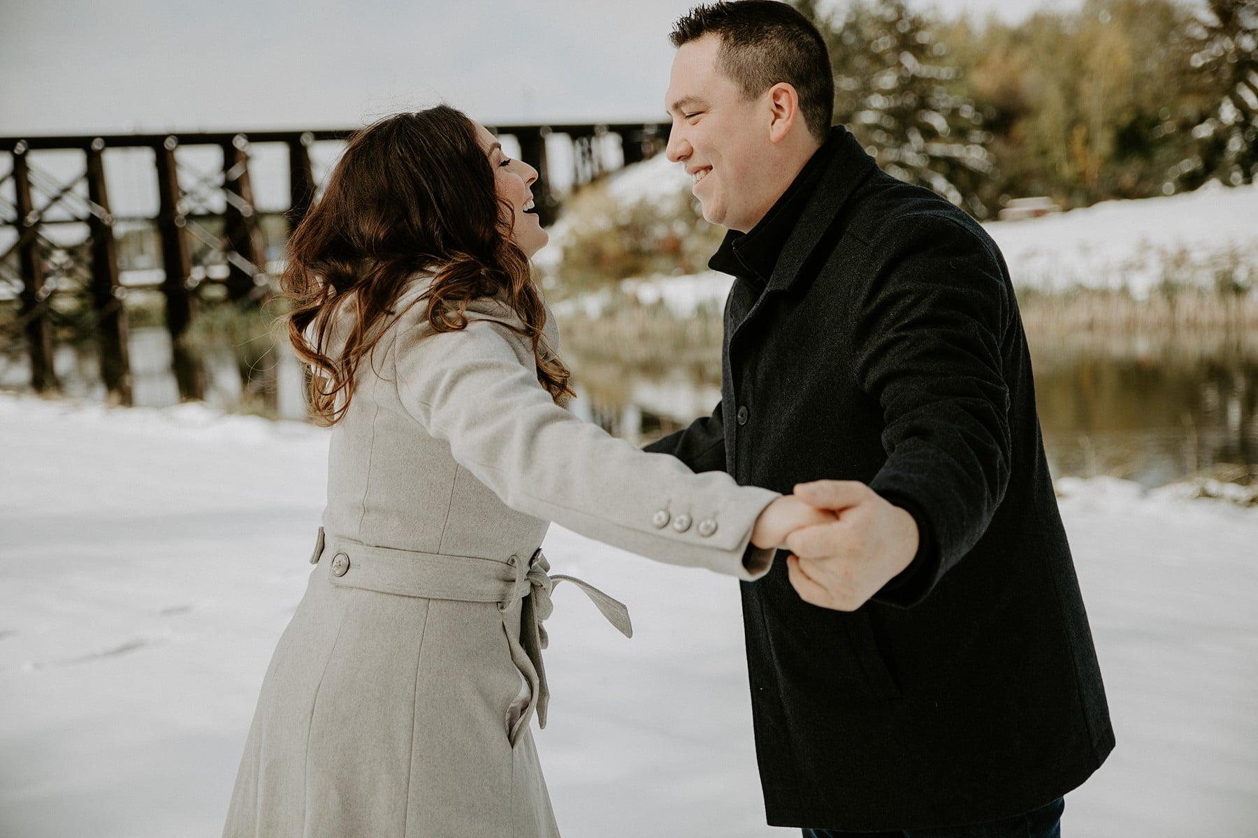 St Albert Engagement Photos
