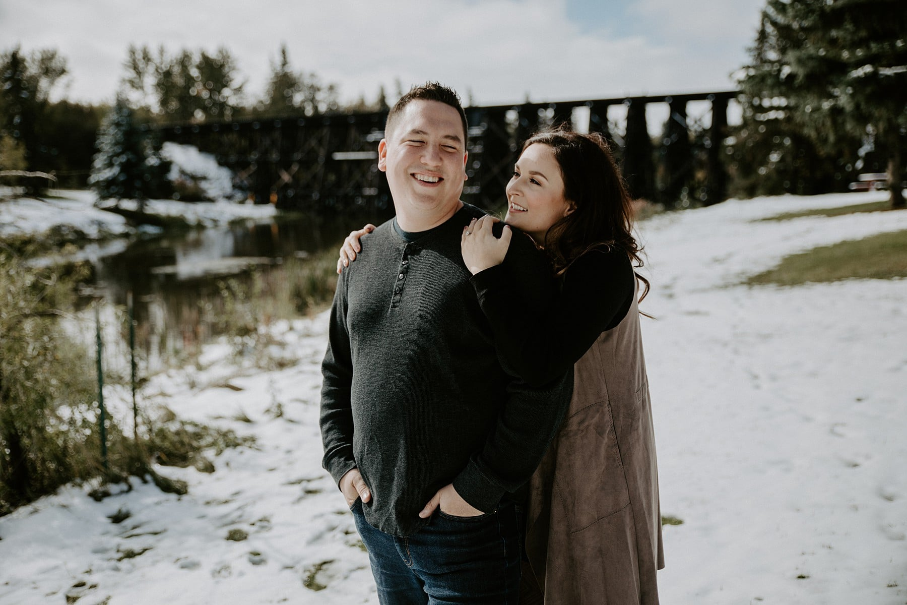 St Albert Engagement Session