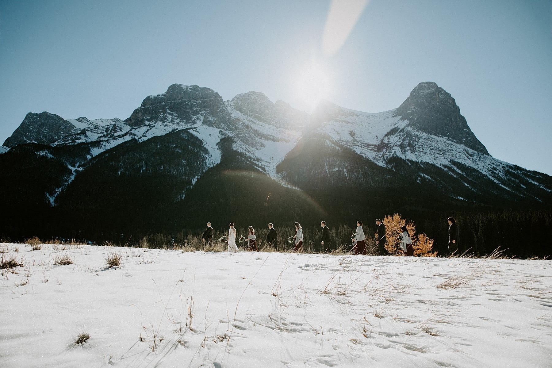 Quarry Lake Park Wedding Canmore