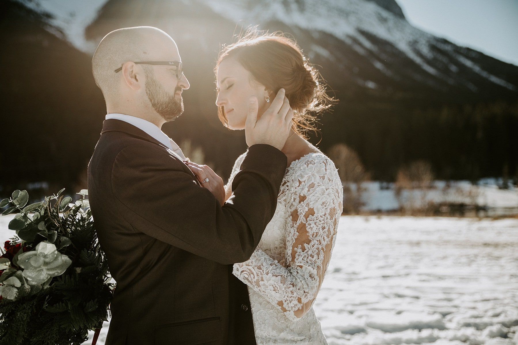 Creekside Villa Wedding Canmore
