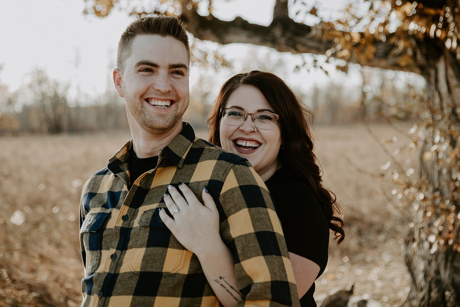 Calgary Engagement Photos Fish Creek Park