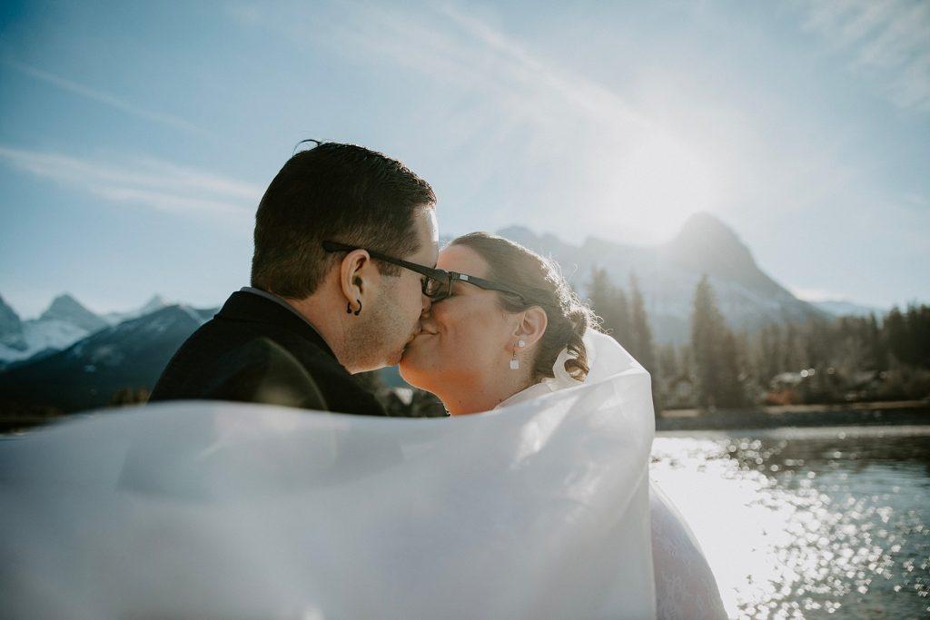 Creekside Villa Wedding in Canmore