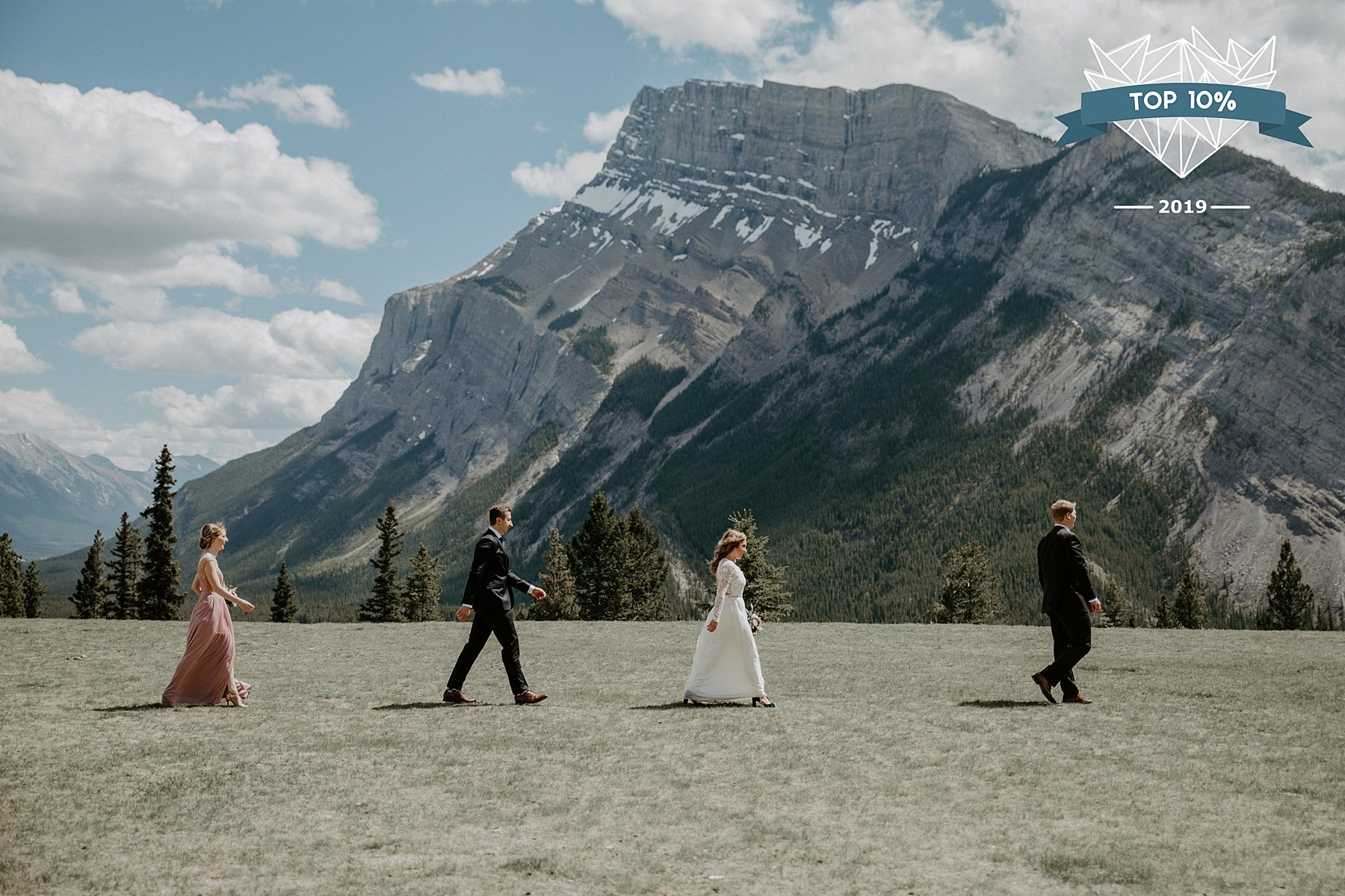Shoot and Share Photo Contest Tunnel Mountain Banff Wedding
