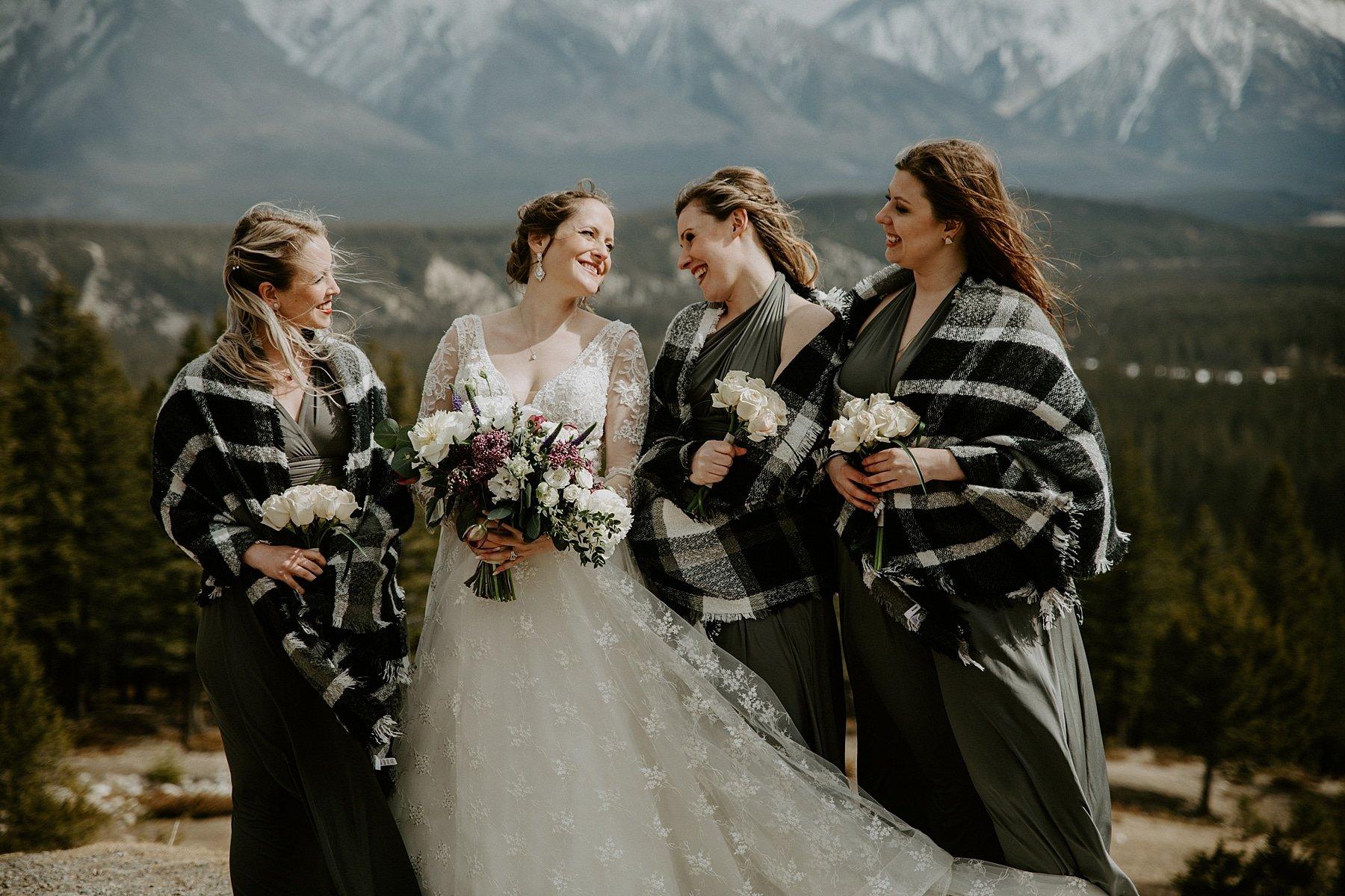 Tunnel Mountain Wedding in Banff