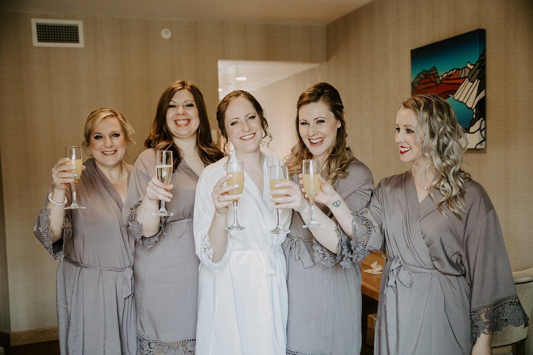Wedding at Moose hotel in Banff