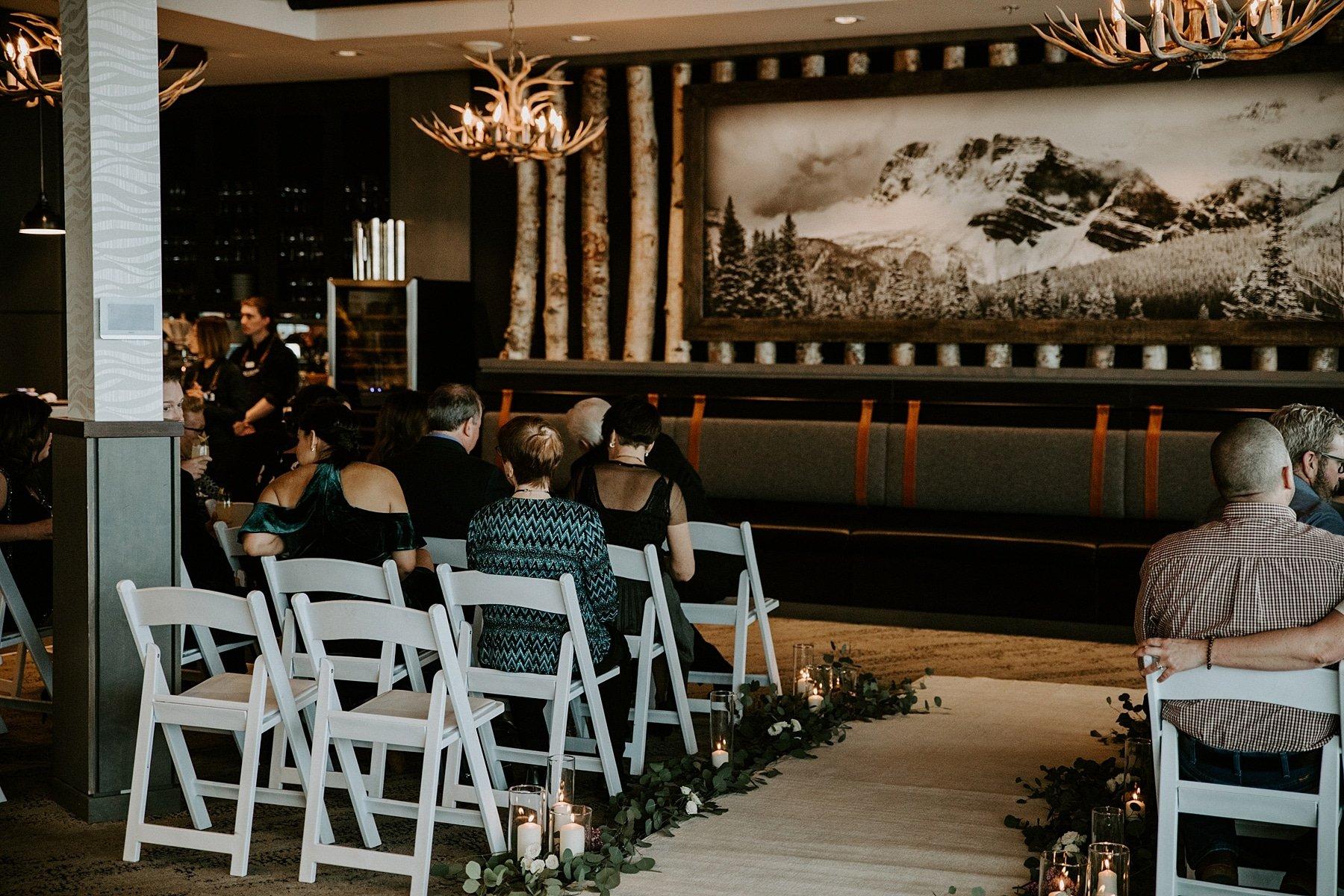 Sky Bistro Banff Wedding