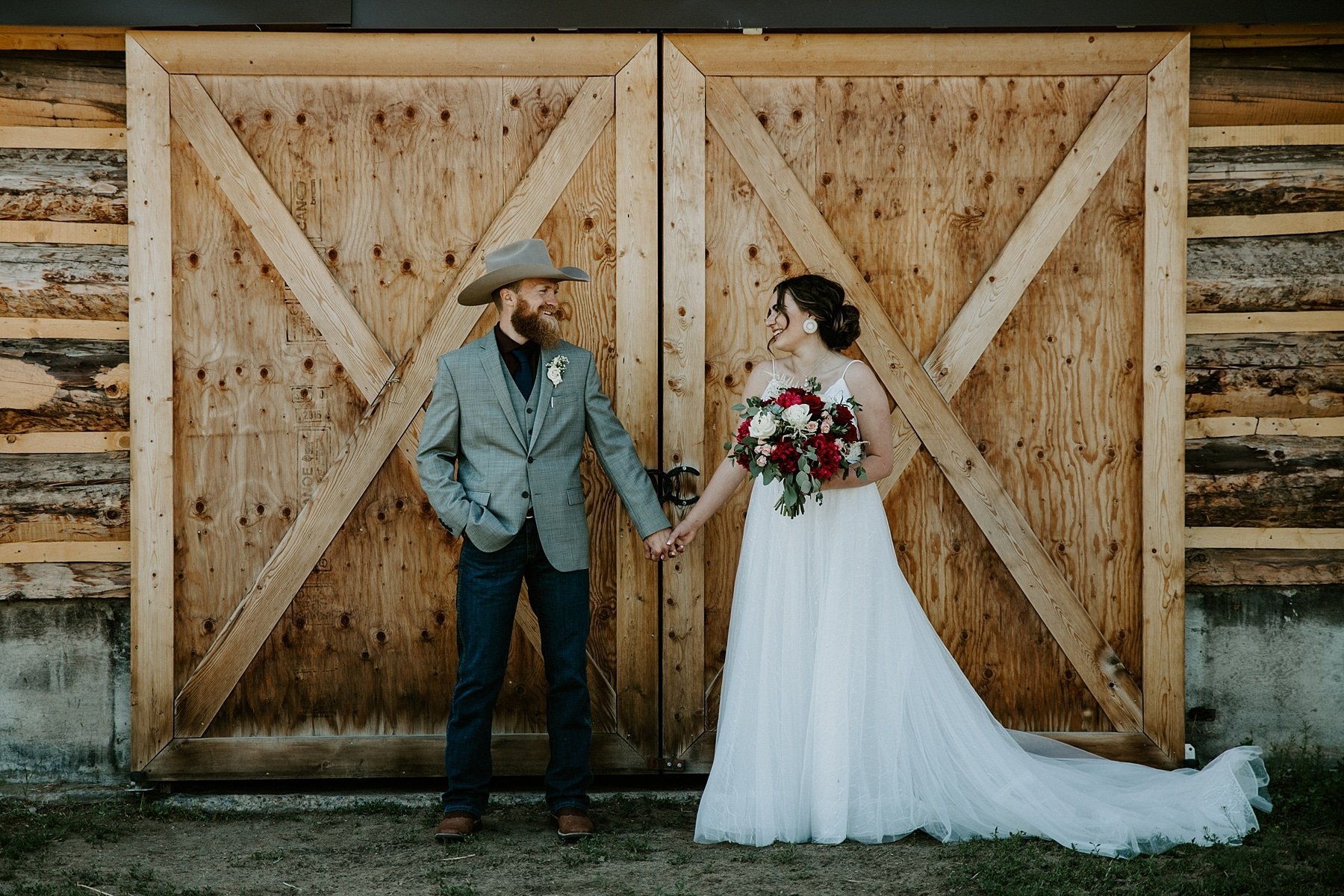 Country wedding in Olds Alberta