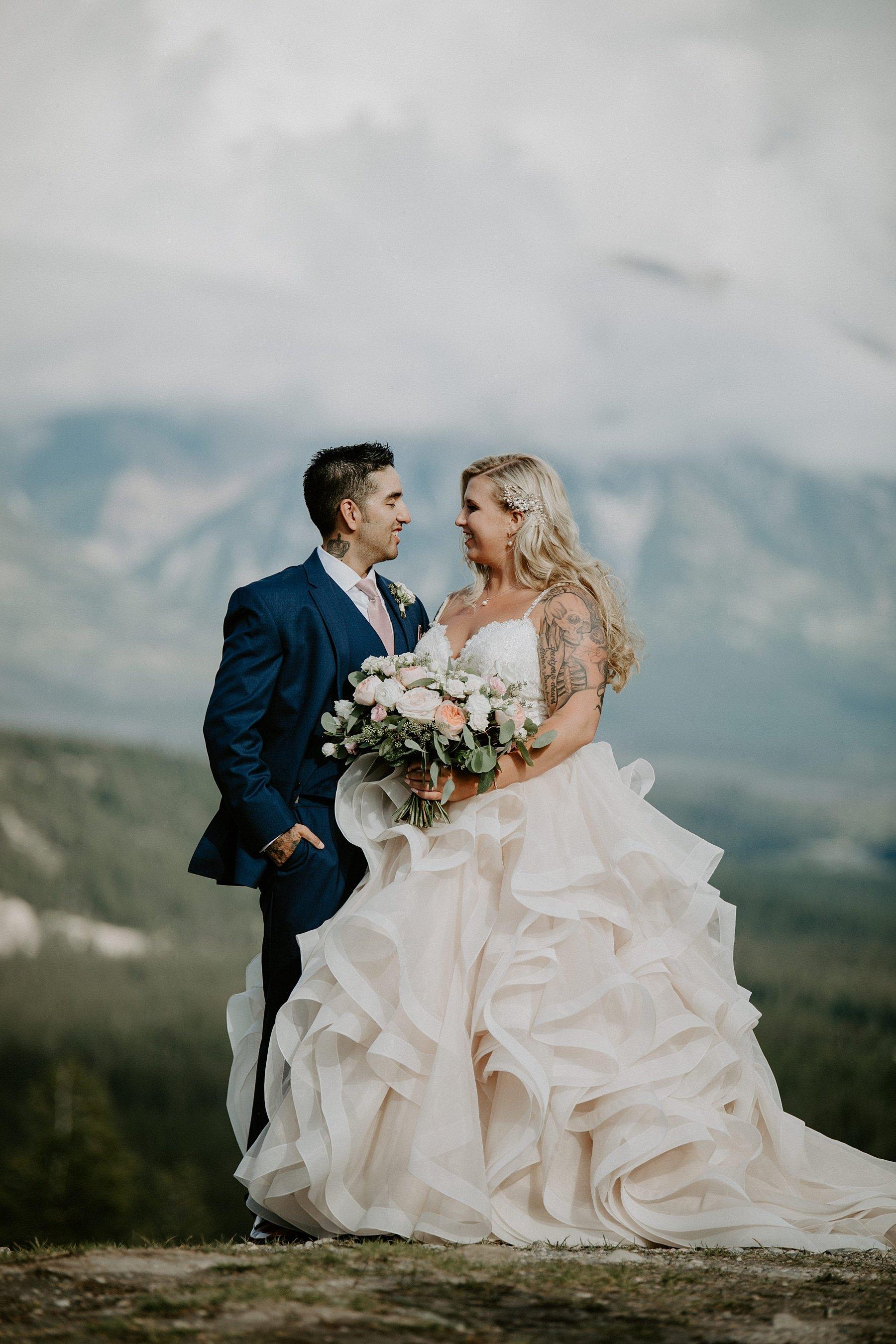 Tunnel Mountain Wedding Photos