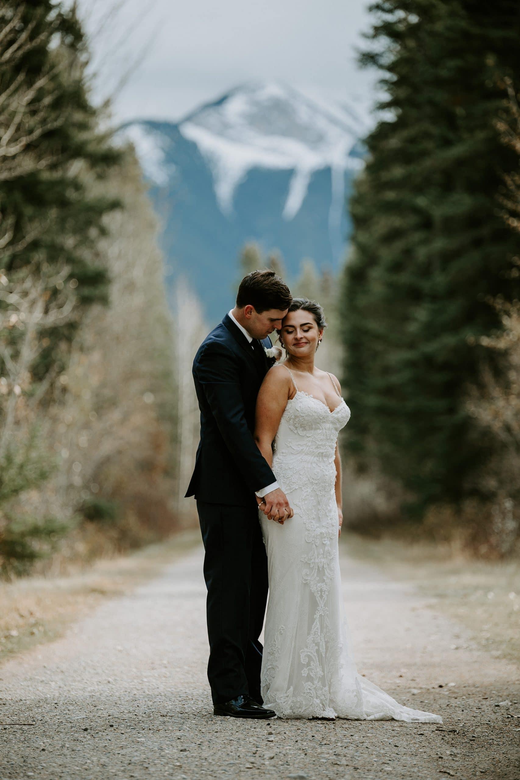 Canmore wedding photos