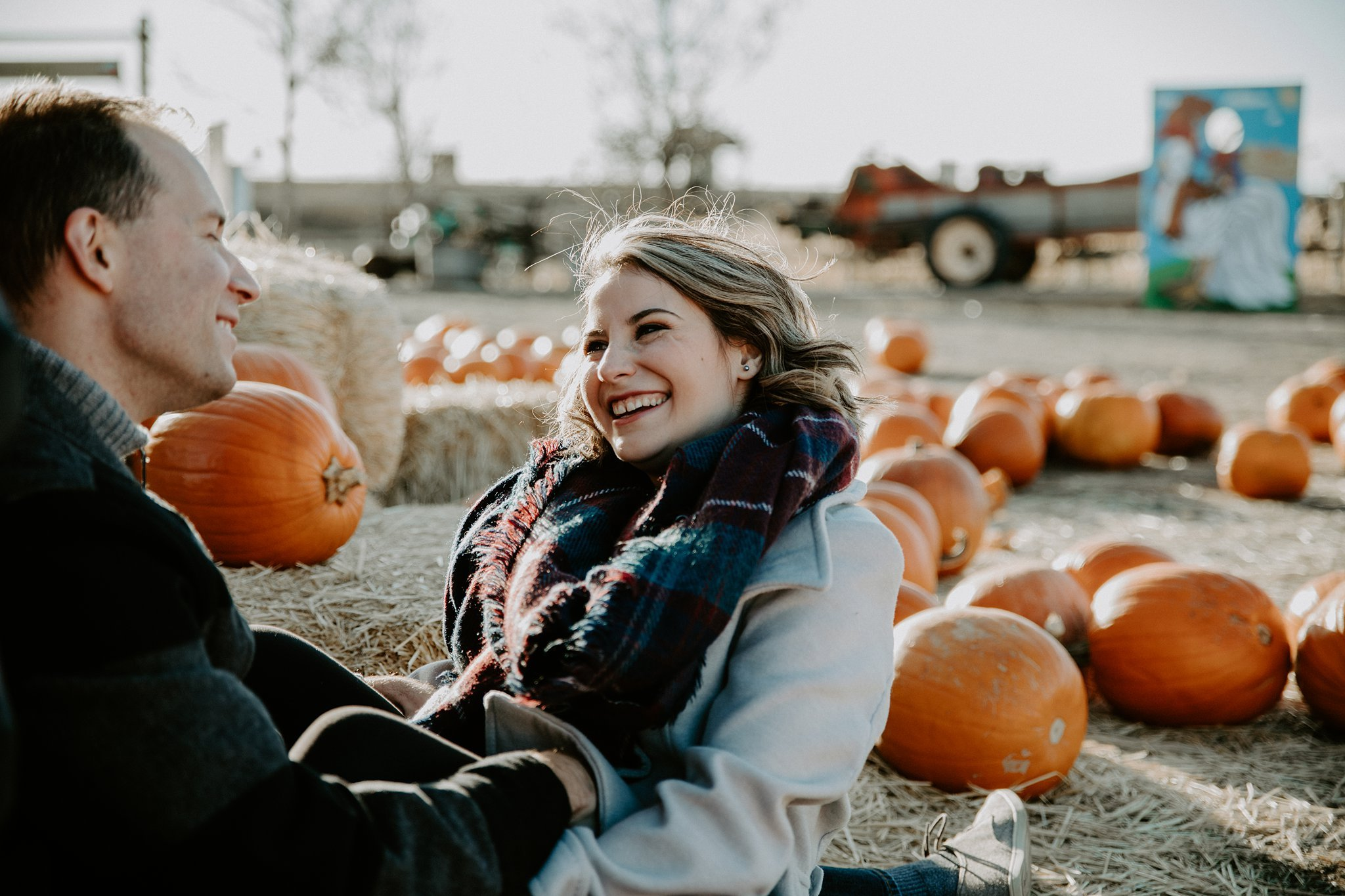 Pumpkin patch photography session