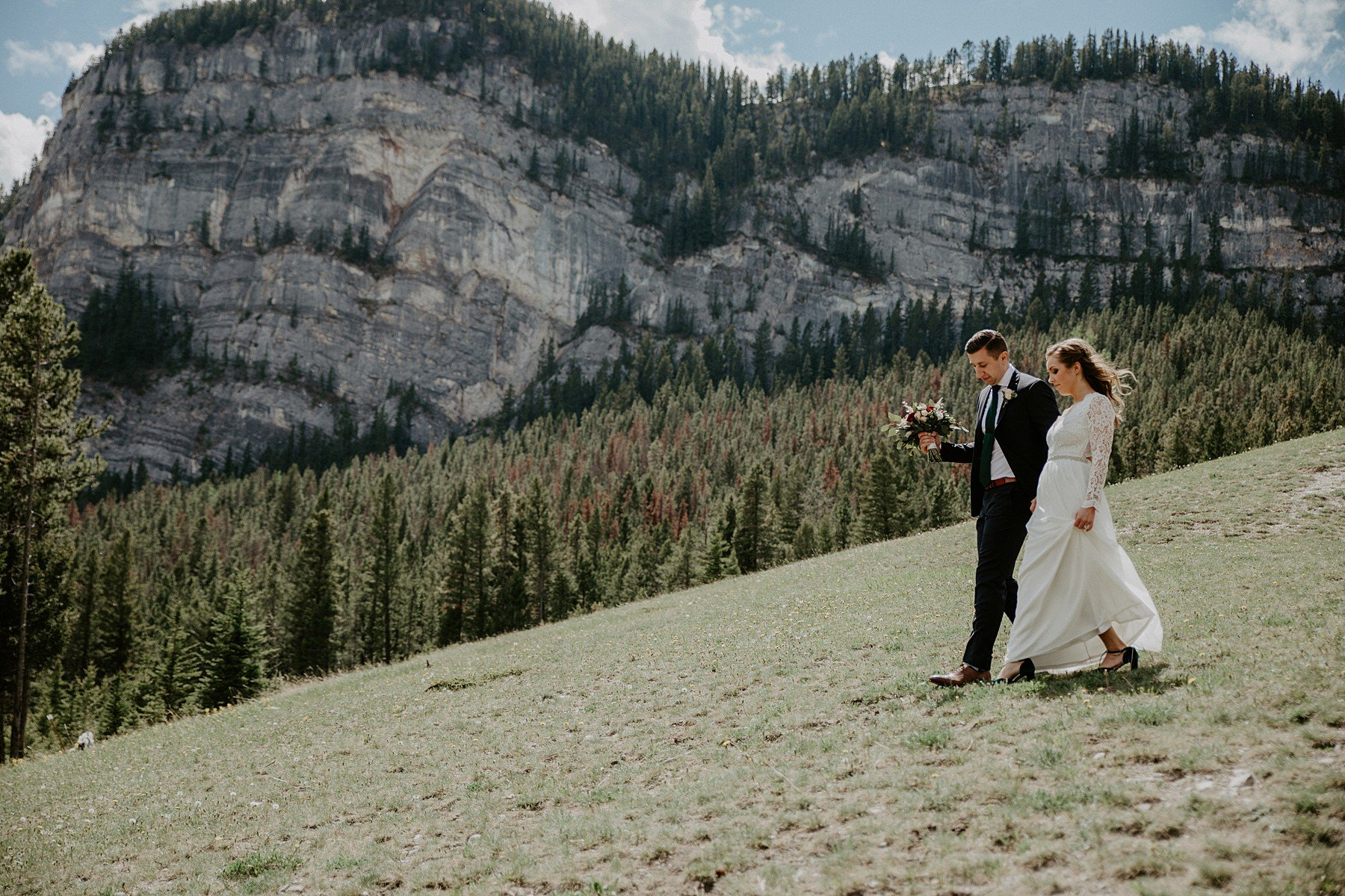 Teller of Tales Photography - Elopement - Tunnel Mountain Banff-78.jpg