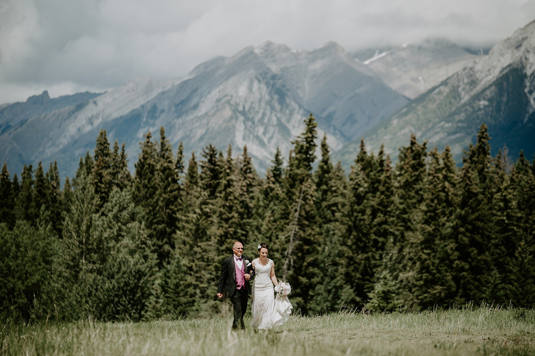 Quarry Lake Park Ceremony in Canmore