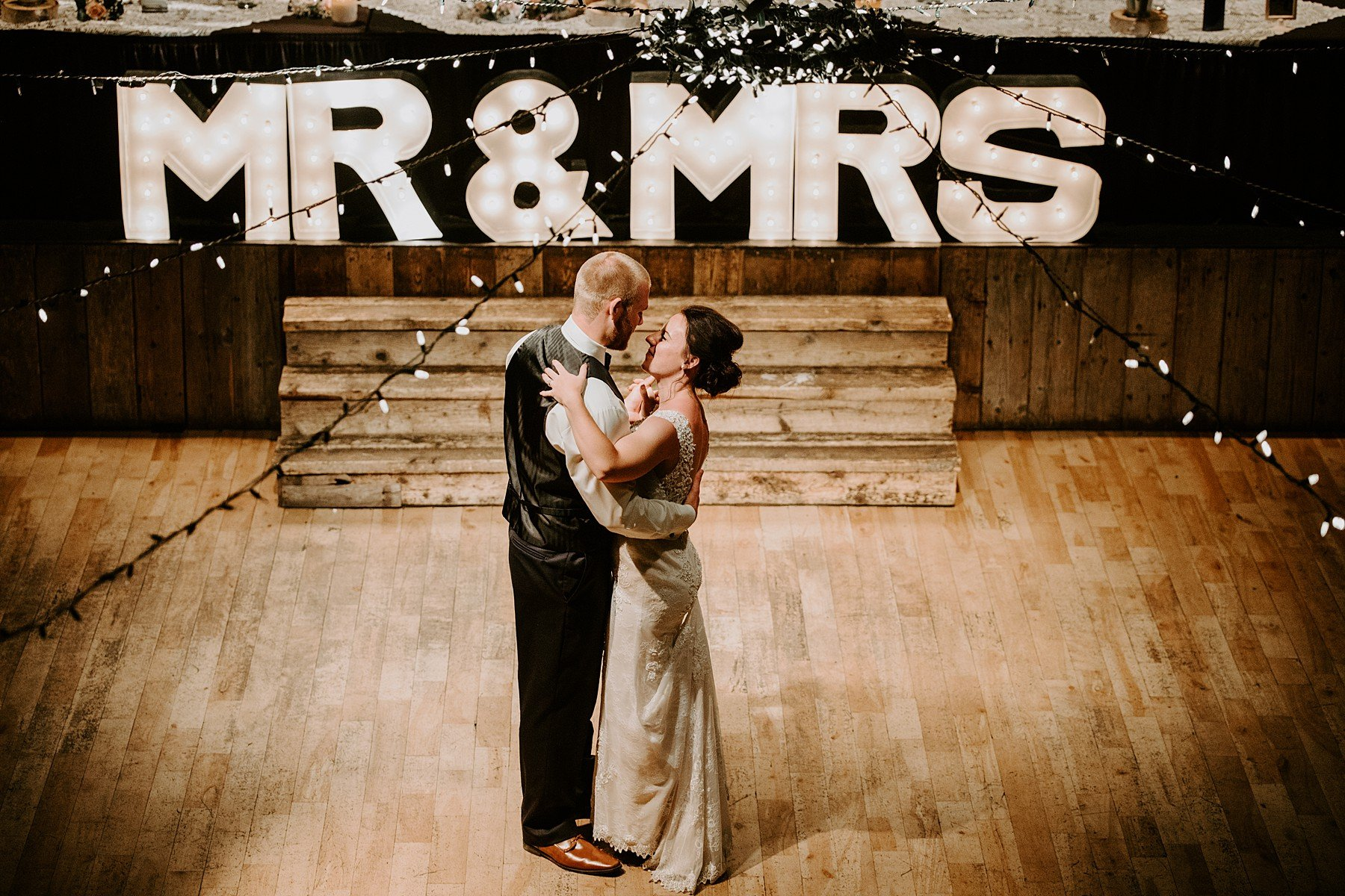 Cornerstone Theatre Wedding In Canmore