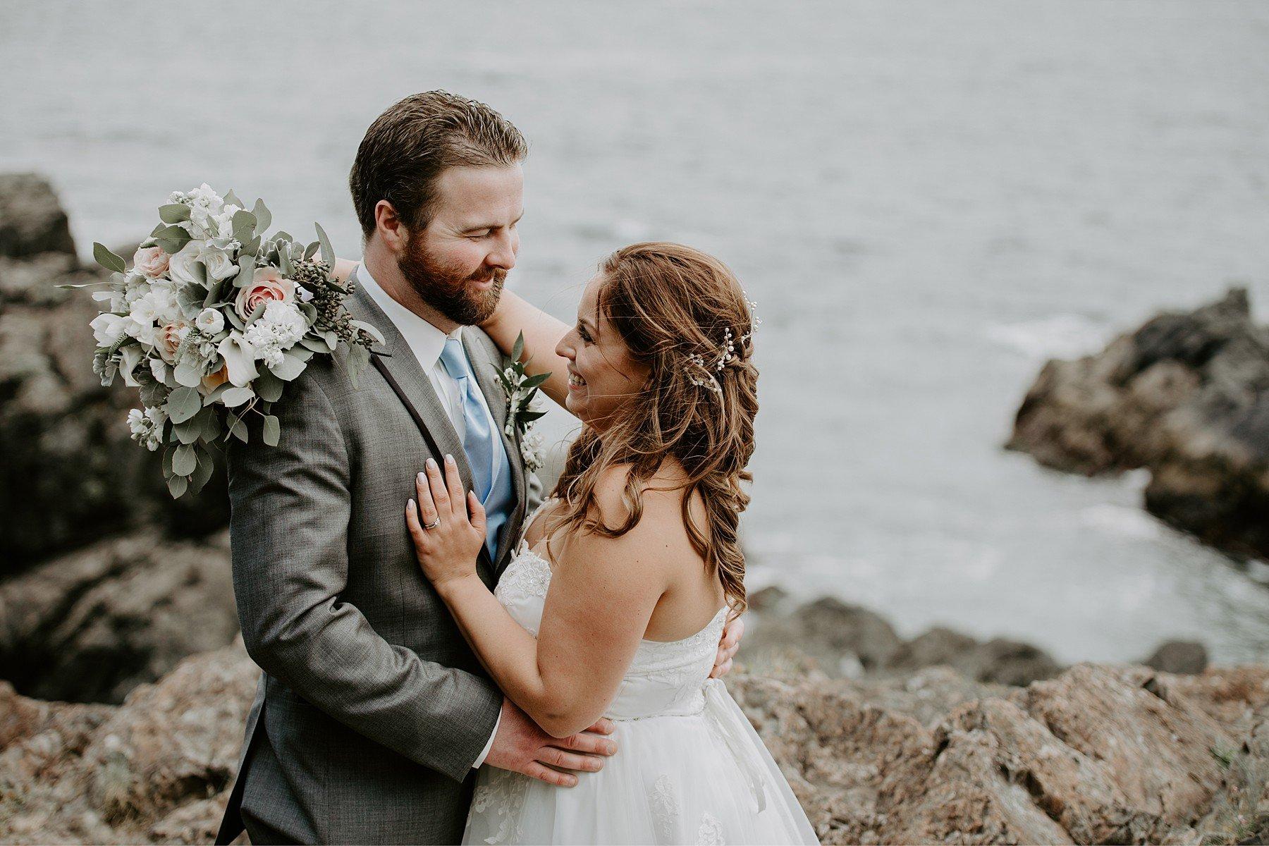 Ucluelet wedding at black rock oceanfront resort