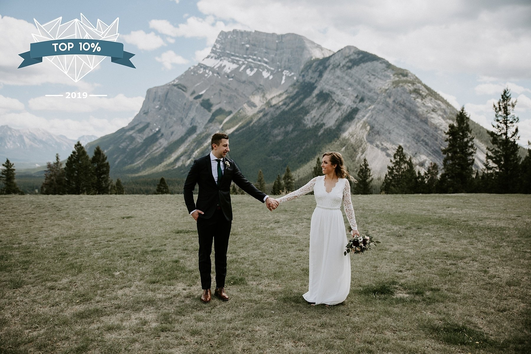 Shoot and Share Tunnel Mountain Wedding in Banff